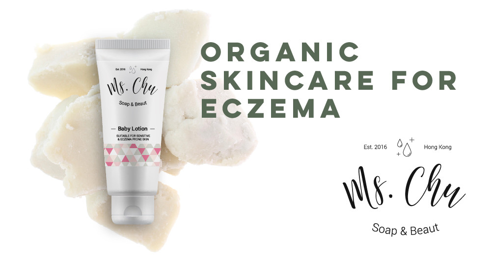 Ms Chu Baby Lotion, natural and organic ingredients, proven to be effective in curing eczema