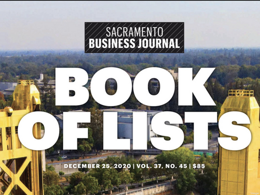 Sacramento Business Journal: Top 25 Advertising Agencies List
