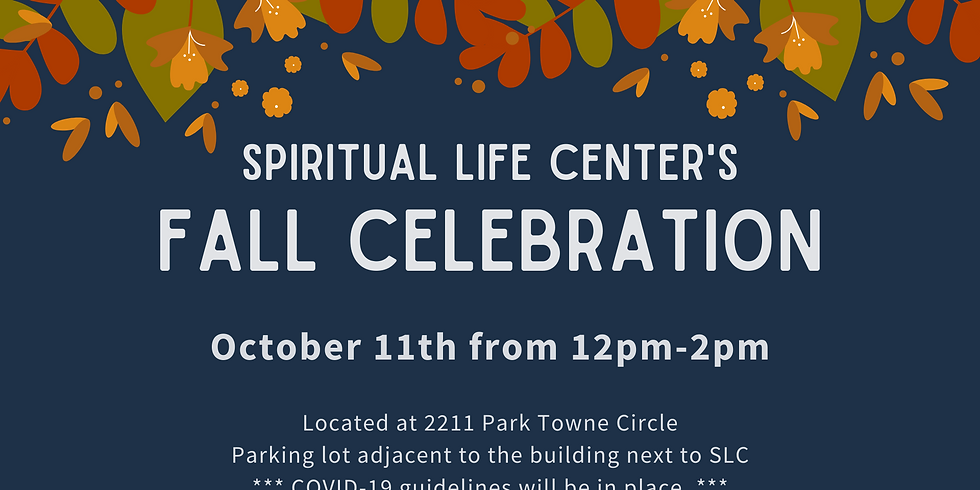 Fall Celebration - SOLD OUT!