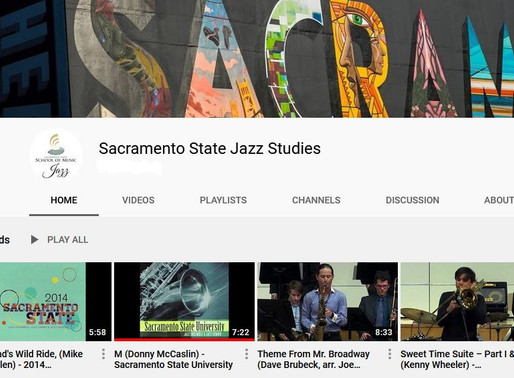 CSUS School of Music, Jazz Studies Department: Documenting Music History