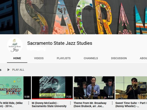 CSUS School of Music, Jazz Studies Department: Documenting Music History