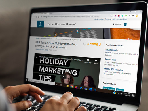 Better Business Bureau Blog Feature: Holiday Marketing Strategies For Your Business