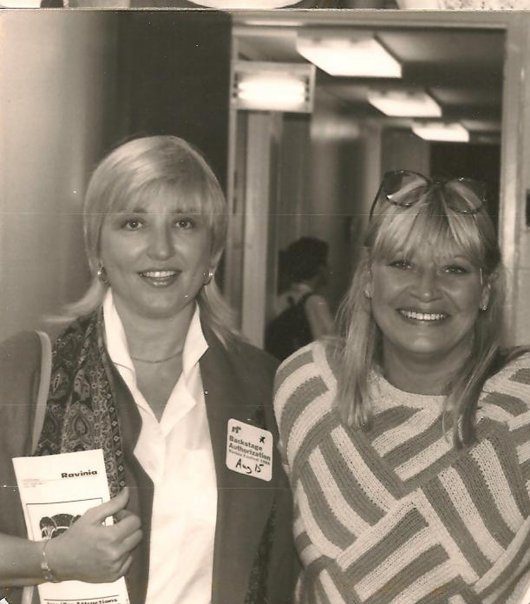 Mary Travers and me after P P & M concert