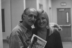 Peter Yarrow and me after P P & M concert