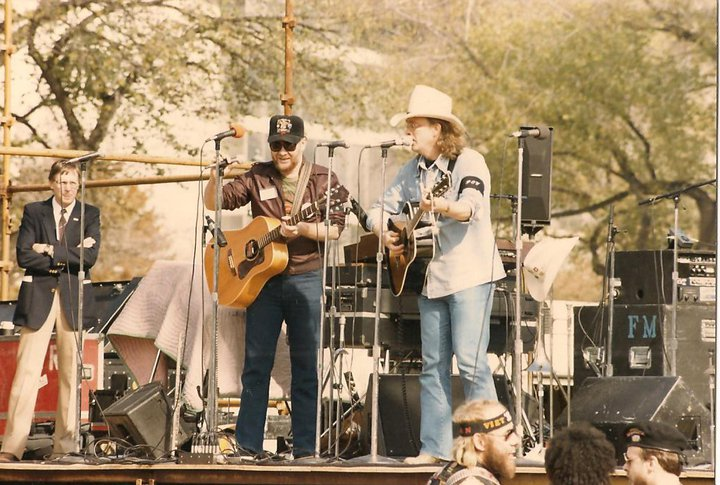 Two Weary Warriors (Michael Martin and Tim Holiday) Salute II 1984