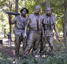 Three Fighting Men Statue, dedicated November, 1984 (Salute II)