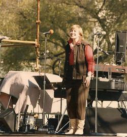 Jackie Marx, opening ceremonies, Salute II, 1984