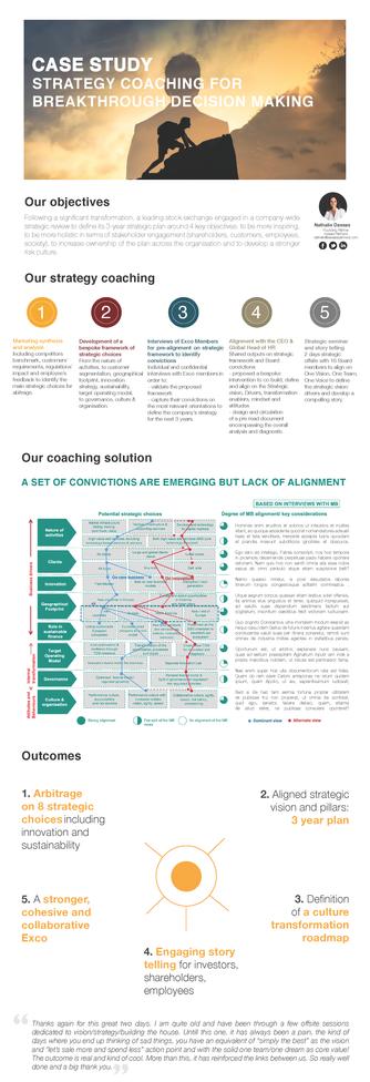 Strategy Coaching Framework case study