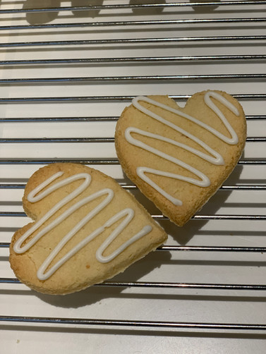 Valentine's Kransekake hearts