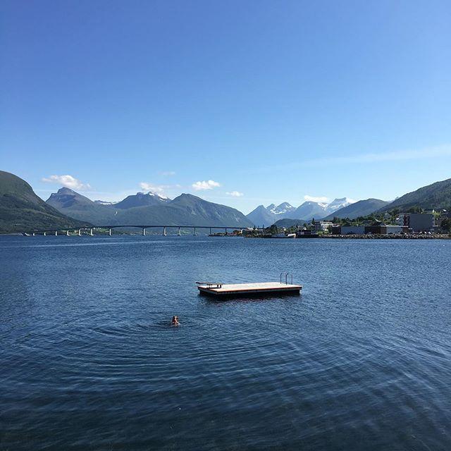 The fjord at Vestnes