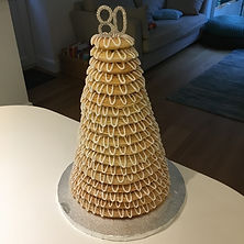 18 ring kransekake celebration cake