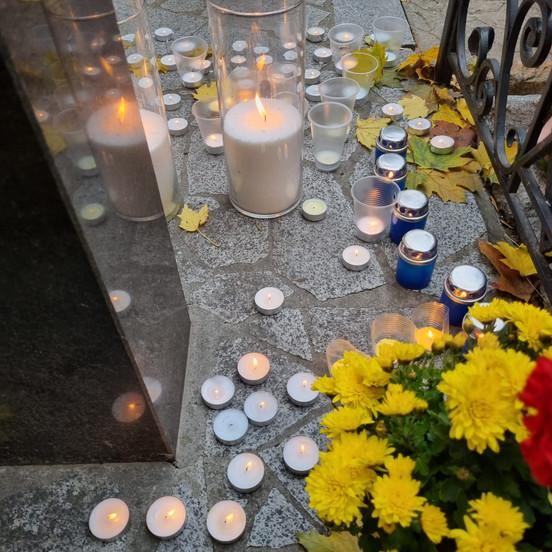 Памяти 80-ой годовщины жертв Холокоста