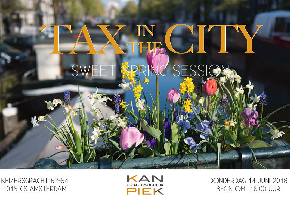 KanPiek Fiscale Advocatuur Amsterdam | Aanmelden Tax in the City WinterWonderLand Session