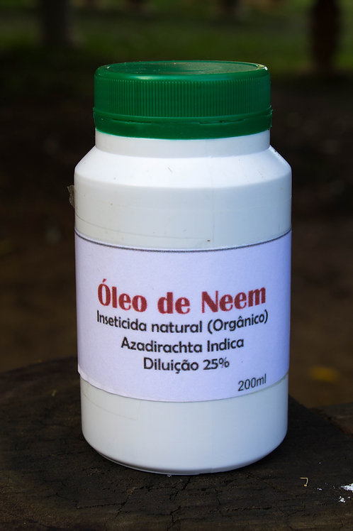 Óleo de Neen inseticida natural orgânico (200ml)