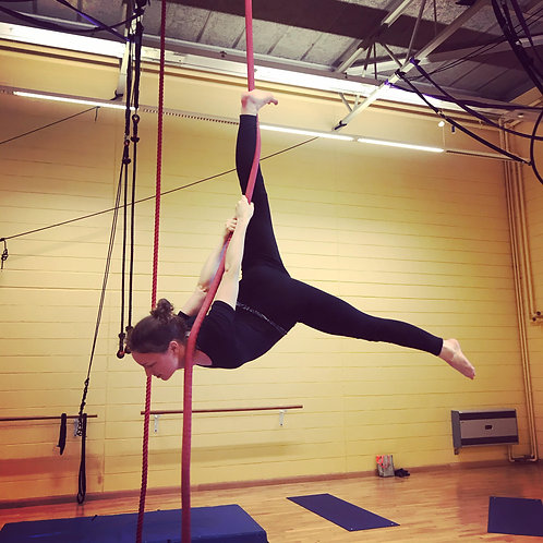 Improvers+ Aerial Course (Sundays - 4 weeks)