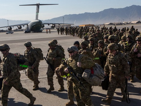 La tartufferie de Biden sur le retrait des troupes américaines d'Afghanistan...