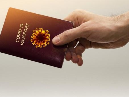 Un projet de « passeport sanitaire »...