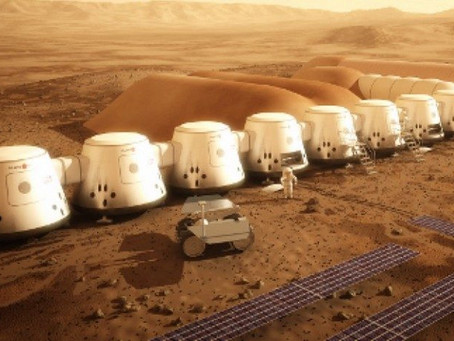 La colonisation de Mars et le Revenu universel