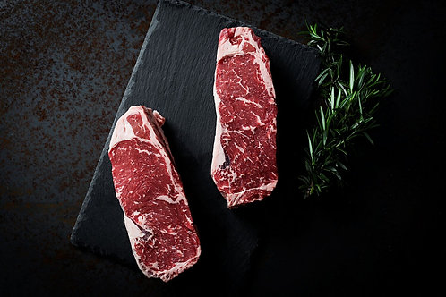 STRIPLOIN ANGUS STEAKS by WAVES PACIFIC