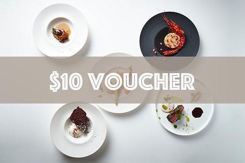 $10 Cash Voucher for Dinner At Test Kitchen