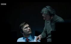 Still of Kirill Pirogov and Andrei Nova from Tv series 'McMafia'.