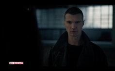 Still from Tv series 'Petra'.                    Andrei Nova starring opposite Paola Cortellesi.
