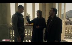 Still from Tv series 'Petra'.                      Paola Cortellesi, Andrea Pennacchi, Andrei Nova.
