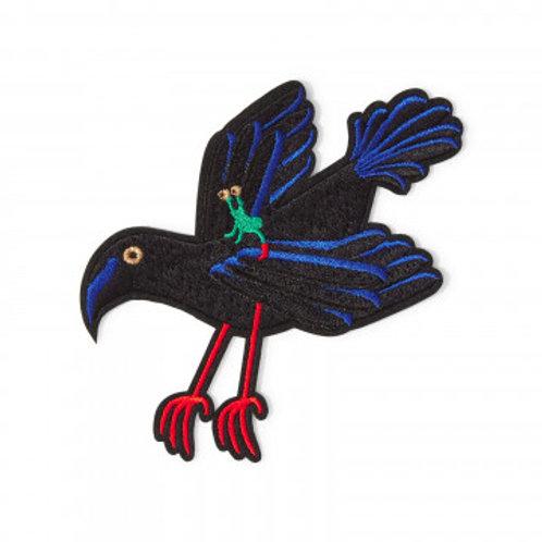 Ecusson Extra-terrestre sur corbeau - MACON&LESCOY