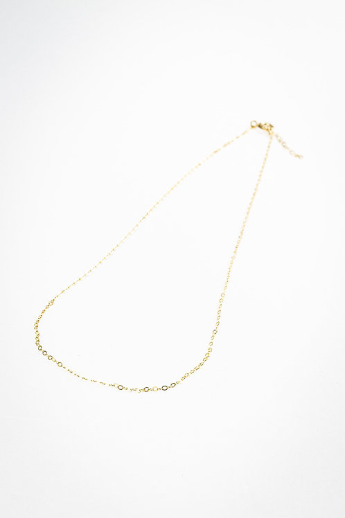 N°26 Collier chaine fine en gold field 42cm - LOUISE KOPIJ