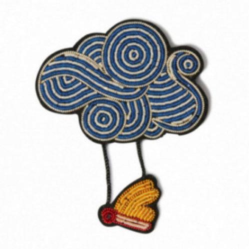 Broche Nuage papillon - MACON&LESQUOY