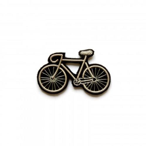 Broche Vélo argenté - MACON&LESQUOY