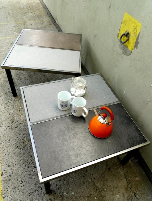 Tables basses aux teinte de gris
