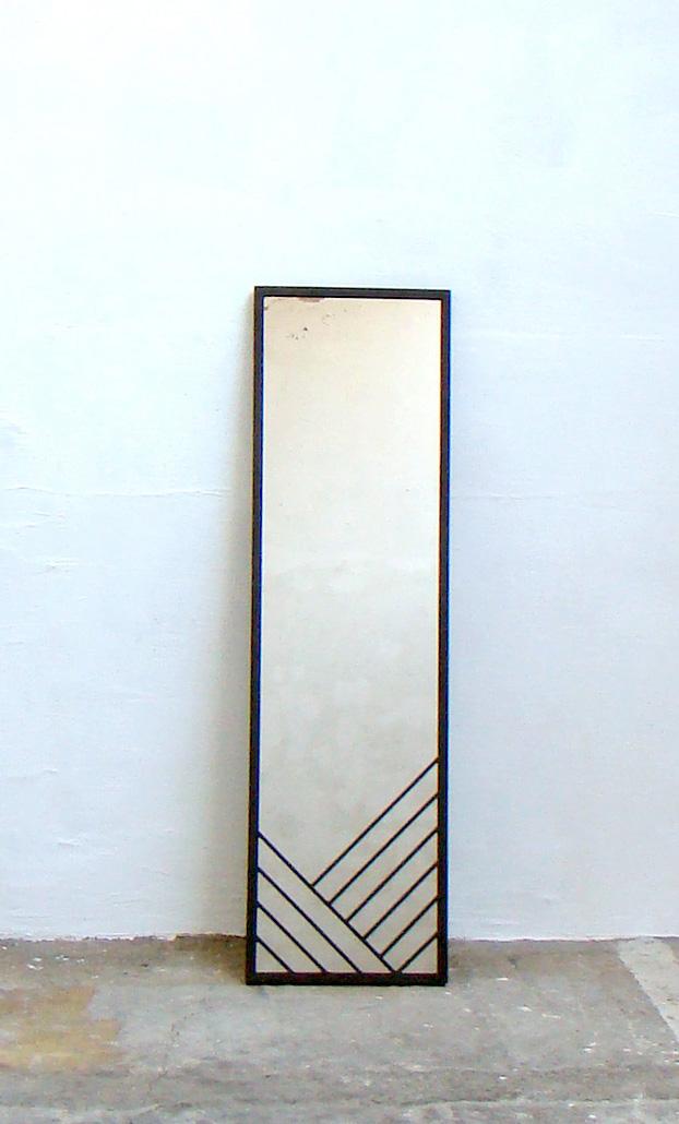 miroir entier lignes