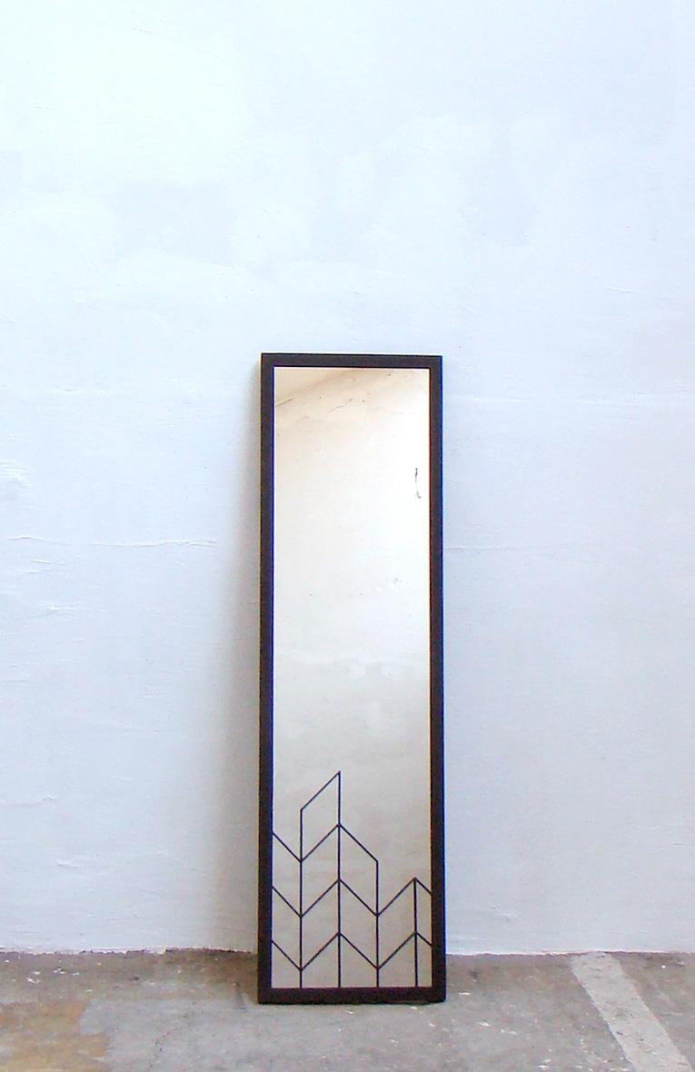 miroir entier motif