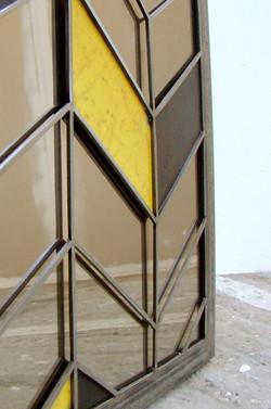 miroir motif tole detail