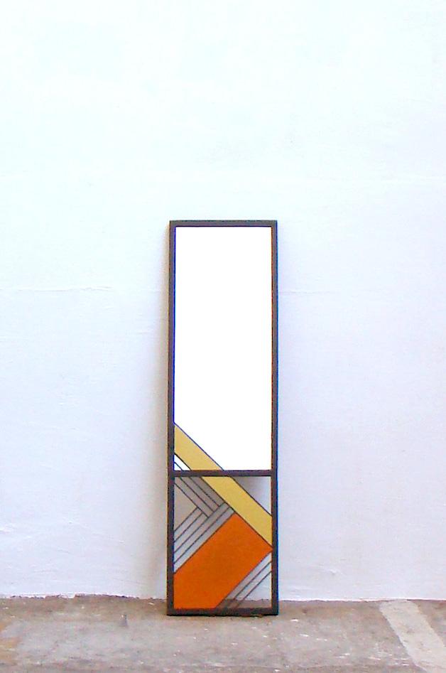 miroir couleur entier
