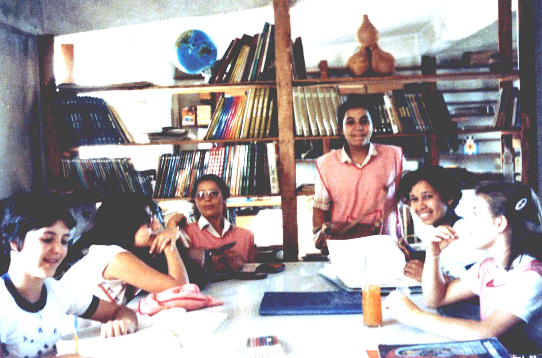 reforço escolar - 1984