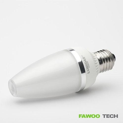 LED svíčková žárovka 5W, E27, 292lm denní bílá (LumiDas-CL05)
