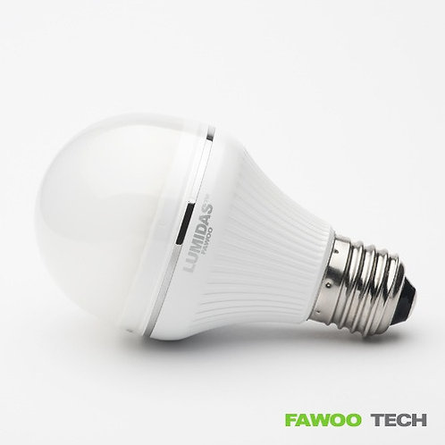 LED žárovka, 6W, E27, teplá bílá (LumiDas-BL06)