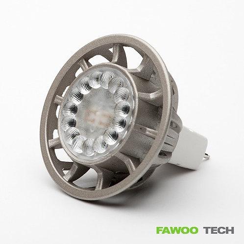 LED žárovka 3W, LumiDas-LH03, GU5.3, bodovka, teplá bílá (náhrada halogenky)