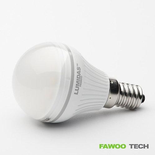 LED žárovka 4W, E14, teplá bílá ( LumiDas-BL04)