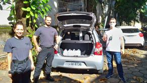 Doação de material de prevenção a COVID-19 pelo IFRJ