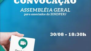 Assembleia Geral - SINDPERJ
