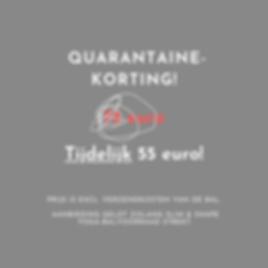 vernieuwde quarantaine aanbieding HSK E.