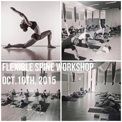 Flexible Spine Workshop at Yoga Point Woerden