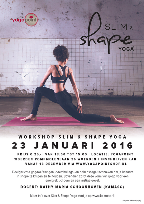 Introductieworkshop 23 jan.  Slim & Shape Yoga©