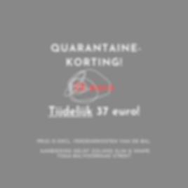 vernieuwde quarantaine aanbieding HSK B.