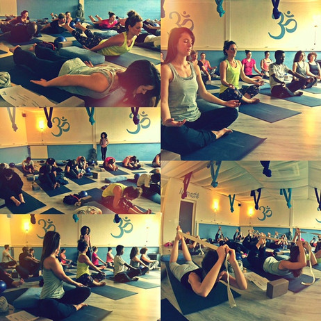 SLIM & SHAPE YOGA WORKSHOP, SUCH A SUCCES!!!