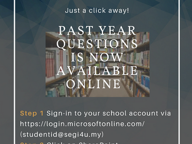 SEGi Past Year Questions