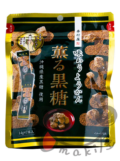 井村屋 薫る黒糖ようかん 98g